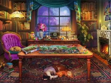 Puzzler s Place Jigsaw Puzzles;Adult Puzzles - image 2 - Ravensburger
