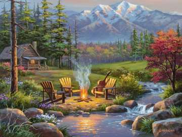 Riverside Livingroom Jigsaw Puzzles;Adult Puzzles - image 2 - Ravensburger