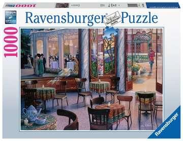 A Café Visit Jigsaw Puzzles;Adult Puzzles - image 1 - Ravensburger
