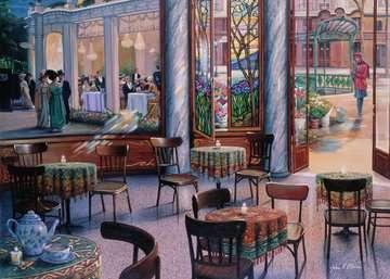 A Café Visit Jigsaw Puzzles;Adult Puzzles - image 2 - Ravensburger