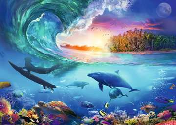 Catch a Wave Jigsaw Puzzles;Adult Puzzles - image 2 - Ravensburger
