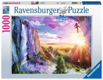 Puzzle 1000 p - Le bonheur du grimpeur Puzzle;Puzzle adulte - Image 1 - Ravensburger