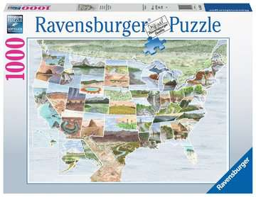 From Sea to Shining Sea Jigsaw Puzzles;Adult Puzzles - image 1 - Ravensburger