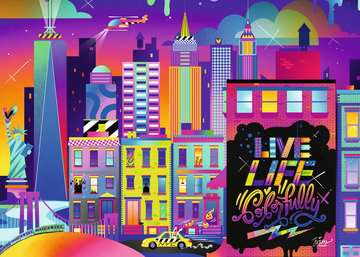 Live Life Colorfully, NYC Puzzles;Puzzles pour adultes - Image 2 - Ravensburger