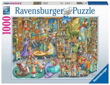 Midnight at the Library Jigsaw Puzzles;Adult Puzzles - image 1 - Ravensburger