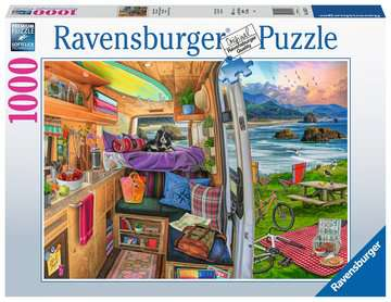 Rig Views Jigsaw Puzzles;Adult Puzzles - image 1 - Ravensburger
