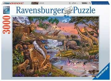 Dierenrijk Puzzels;Puzzels voor volwassenen - image 1 - Ravensburger