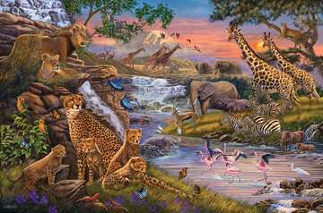 Animal Kingdom Jigsaw Puzzles;Adult Puzzles - image 2 - Ravensburger