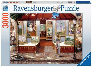 Gallery of Fine Art Jigsaw Puzzles;Adult Puzzles - image 1 - Ravensburger