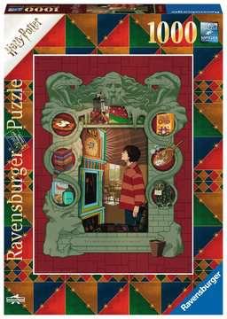 16516 Erwachsenenpuzzle Harry Potter bei der Weasley Familie von Ravensburger 1