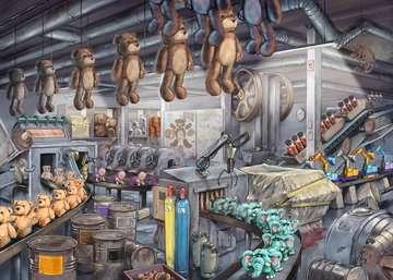 Escape Toy Factory        368p Puslespil;Puslespil for voksne - Billede 3 - Ravensburger