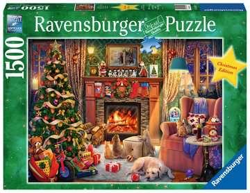 Le réveillon de Noël Puzzle;Puzzles adultes - Image 1 - Ravensburger