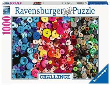 Challenge Buttons         1000p Puslespil;Puslespil for voksne - Billede 1 - Ravensburger