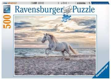 16586 Erwachsenenpuzzle Pferd am Strand von Ravensburger 1