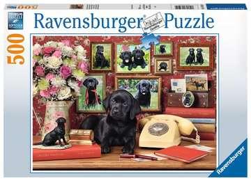 Meine treuen Freunde      500p Puslespil;Puslespil for voksne - Billede 1 - Ravensburger