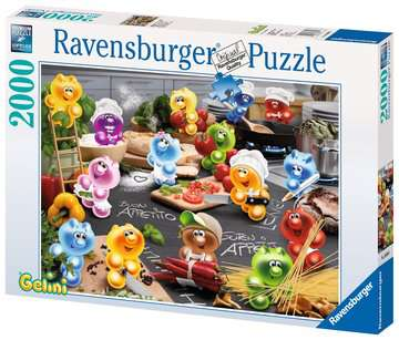 PASJONACI KUCHNI 2000 EL   14 Puzzle;Puzzle dla dorosłych - Zdjęcie 1 - Ravensburger