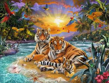 Tiger Family, 2000pc Puzzles;Adult Puzzles - image 2 - Ravensburger