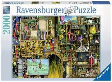 Colin Thompson - Crazy Laboratory, 2000pc Puzzles;Adult Puzzles - image 1 - Ravensburger