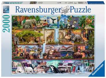 Wild Kingdom Shelves Jigsaw Puzzles;Adult Puzzles - image 1 - Ravensburger