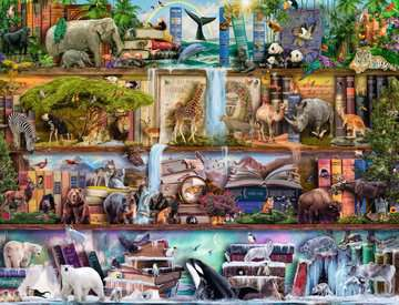 Wild Kingdom Shelves Jigsaw Puzzles;Adult Puzzles - image 2 - Ravensburger
