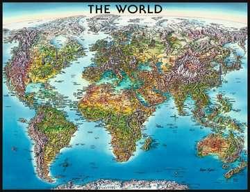 World Map Puzzle;Puzzle da Adulti - immagine 2 - Ravensburger