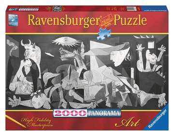 PICASSO:GUERNICA 2000EL. PANORAMA Puzzle;Puzzle dla dorosłych - Zdjęcie 1 - Ravensburger