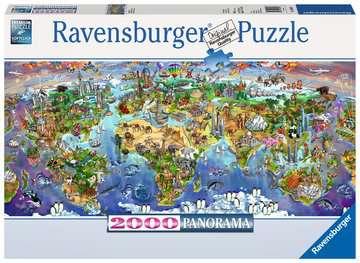 Puzzle 2000 p - Merveilles du monde Puzzle;Puzzle adulte - Image 1 - Ravensburger