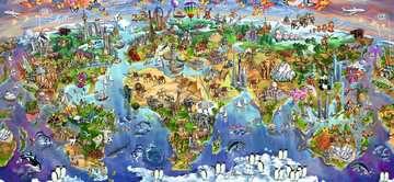 Puzzle 2000 p - Merveilles du monde Puzzle;Puzzle adulte - Image 2 - Ravensburger