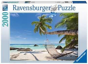 HAMAK NA PLAŻY 2000EL. Puzzle;Puzzle dla dorosłych - Zdjęcie 1 - Ravensburger