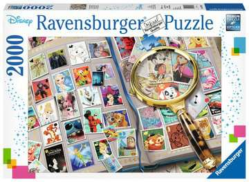 Disney Stamp Album, 2000pc Puzzles;Adult Puzzles - image 1 - Ravensburger