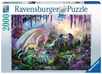 Dragon Valley Jigsaw Puzzles;Adult Puzzles - image 1 - Ravensburger
