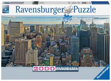 View over New York Jigsaw Puzzles;Adult Puzzles - image 1 - Ravensburger