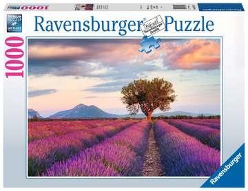 16724 Erwachsenenpuzzle Lavendelfeld in der goldenen Stunde von Ravensburger 1