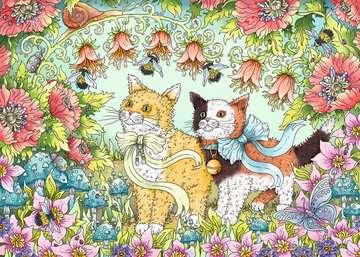 Kattenvriendschap Puzzels;Puzzels voor volwassenen - image 2 - Ravensburger