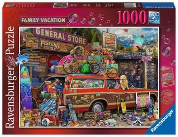 Familievakantie Puzzels;Puzzels voor volwassenen - image 1 - Ravensburger