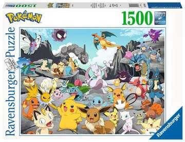 Puzzle 1500 p - Pokémon Classics Puzzle;Puzzle adulte - Image 1 - Ravensburger