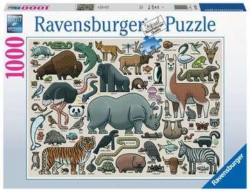 Wilde dieren Puzzels;Puzzels voor volwassenen - image 1 - Ravensburger