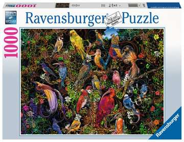 Schitterende vogels Puzzels;Puzzels voor volwassenen - image 1 - Ravensburger