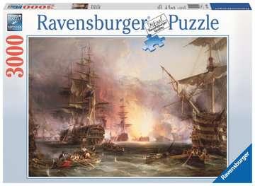 Puzzle 3000 p - Le bombardement d Alger / Martinus Schouman Puzzle;Puzzle adulte - Image 1 - Ravensburger