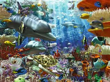 Oceanic Wonders Jigsaw Puzzles;Adult Puzzles - image 2 - Ravensburger