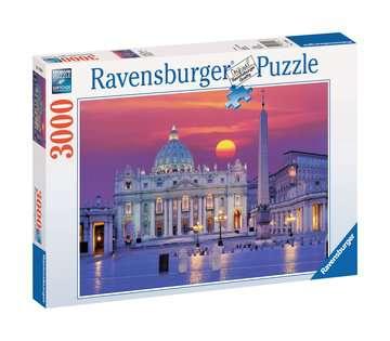 St. Peter s Cathedral, Rome Puslespil;Puslespil for voksne - Billede 1 - Ravensburger
