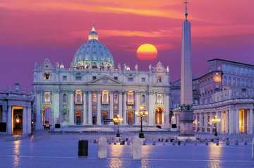 Rom, Peterskirche Puslespil;Puslespil for voksne - Billede 2 - Ravensburger