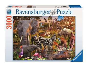 African Animal World Jigsaw Puzzles;Adult Puzzles - image 1 - Ravensburger