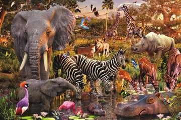 African Animal World Jigsaw Puzzles;Adult Puzzles - image 2 - Ravensburger