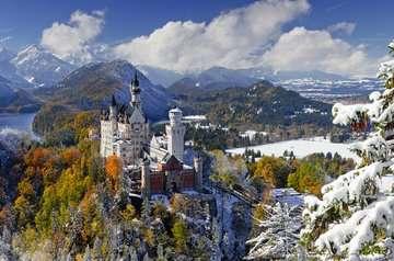Schloß im Winter Puzzle;Erwachsenenpuzzle - Bild 2 - Ravensburger