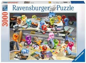 17064 Erwachsenenpuzzle Gelini auf Reisen von Ravensburger 1
