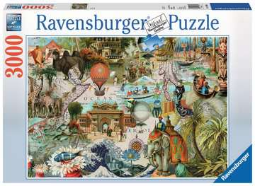 Oceania Jigsaw Puzzles;Adult Puzzles - image 1 - Ravensburger