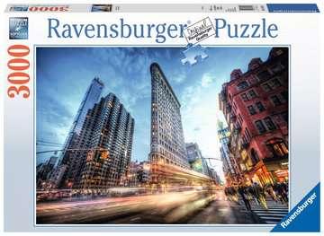 Flat Iron Building Puzzle;Erwachsenenpuzzle - Bild 1 - Ravensburger
