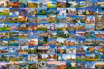 17080 Erwachsenenpuzzle 99 Beautiful Places in Europe von Ravensburger 2