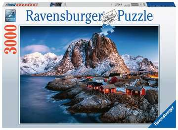 Hamnoy, Lofoten Puzzle;Erwachsenenpuzzle - Bild 1 - Ravensburger